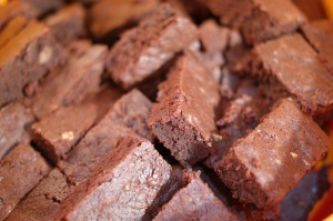 Mmmm ... brownies.