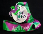 The April Fool's race medal.