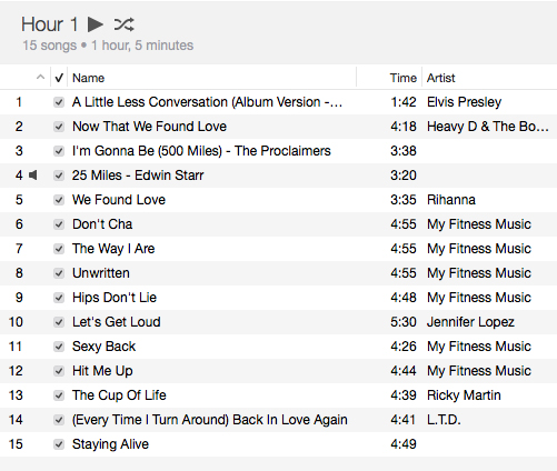 playlist screen grab