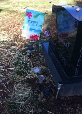 Cemetery sentiments ...?