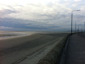 On the Eastern edge of Sandymount Village: Dublin Bay