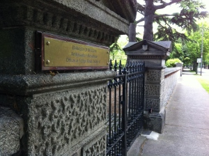 One of several embassies or ambassador residences I encountered on my walk