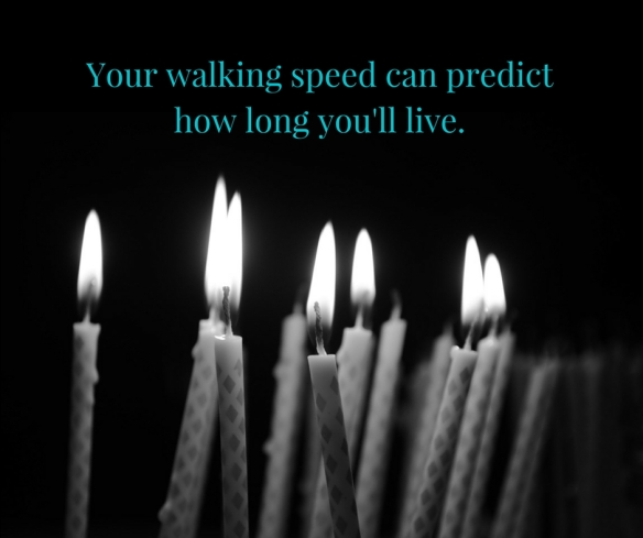 Your walking speed can predict how long you'll live.