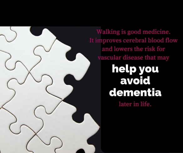 Walking is good medicine