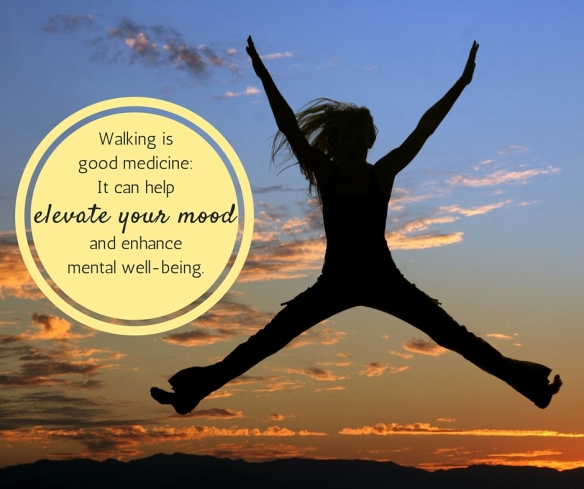 Walking is good medicine_ It can help