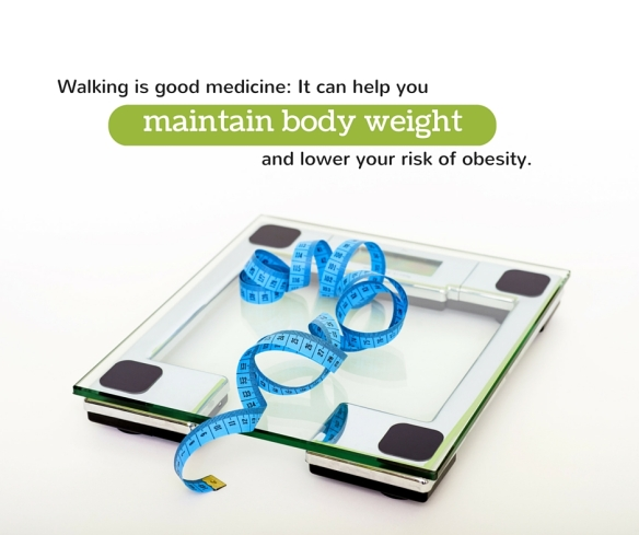 Walking is good medicine_ It can help you