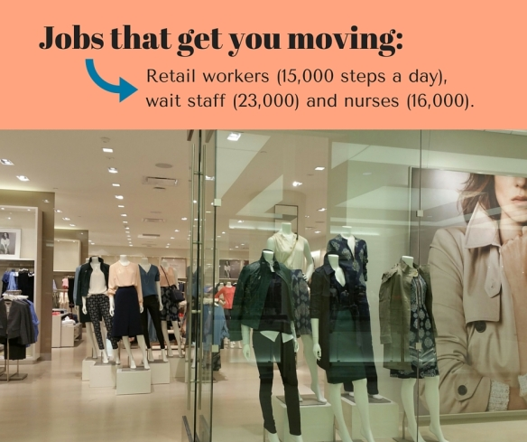 Jobs that get you moving_
